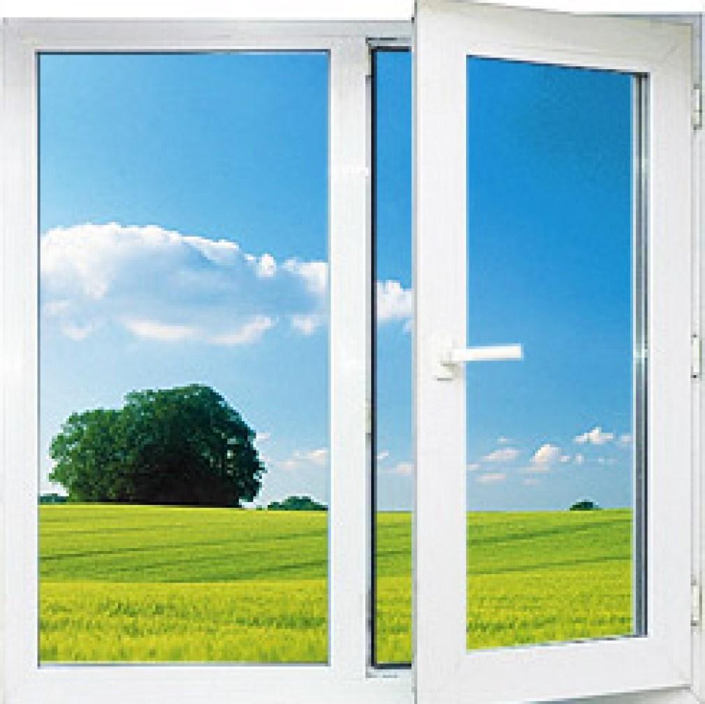 окно ПВХ двухстворчатое1
